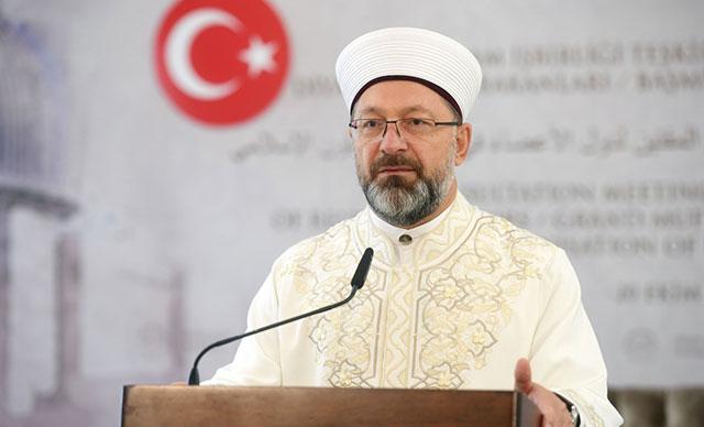 diyanet, ali erbaş,Ali Erbaş, Diyanet İşleri Başkanlığı'na yeniden atandı
