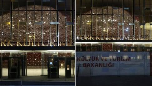 akm,Atatürk Kültür Merkezi'nde ışıklar yandı