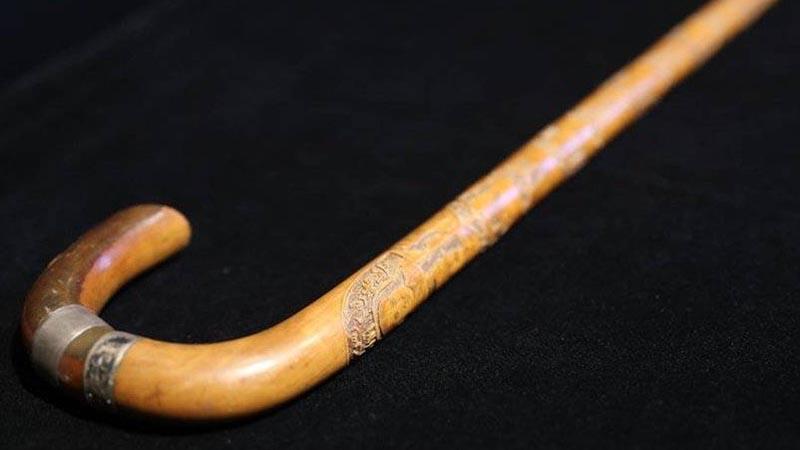 mustafa kemal atatürk, atatürk, baston, açık arttırma,Atatürk'e ait baston açık arttırmada satılıyor