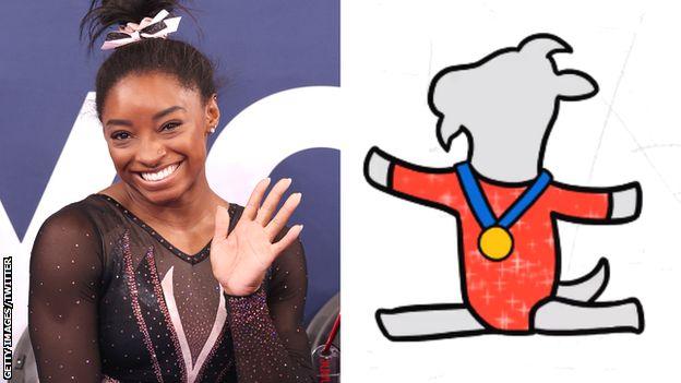 Cimnastikçi Simone Biles, kendi emojisi olan ilk kadın atlet oldu