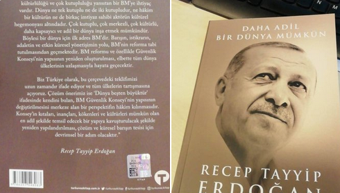 daha adil bir dünya mümkün,Erdoğan'ın 'Daha Adil Bir Dünya Mümkün' isimli kitabı 6 Eylül'de 40 TL'den satışa çıkıyor
