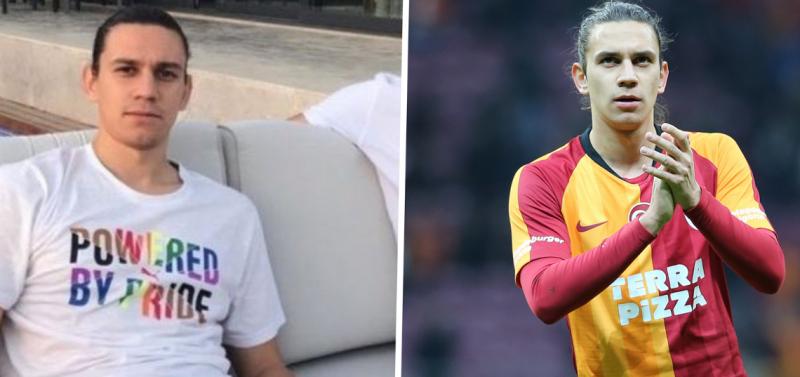 Galatasaray'ın resmi hesabından Taylan Antalyalı'ya destek