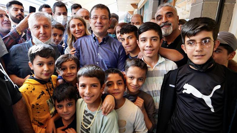 ekrem imamoğlu,İmamoğlu: Sanat için Diyarbakır'a geldim, siyasi bir gezi değil