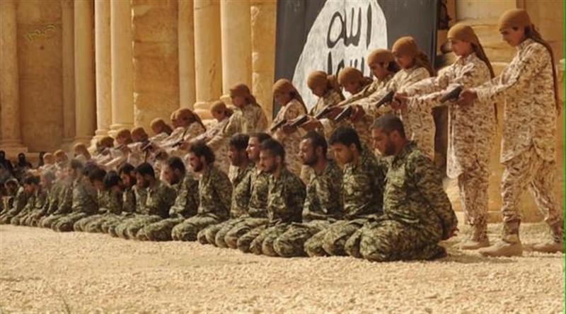 ışid, palmira,IŞİD Palmira'da 25 Suriye askerini öldürdü!