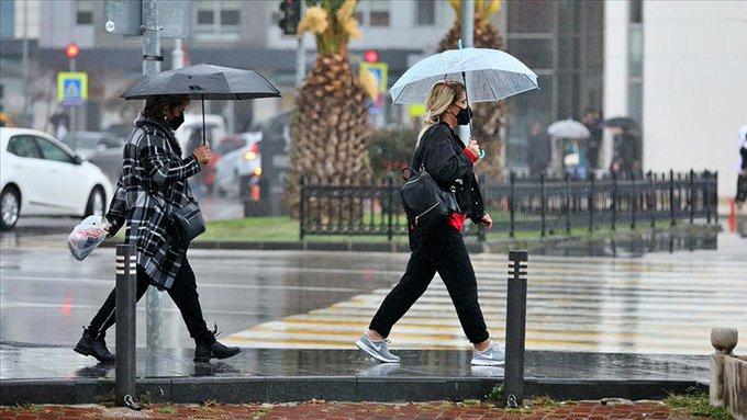 hava durumu,meteoroloji,Meteoroloji'den 6 il için kuvvetli sağanak uyarısı