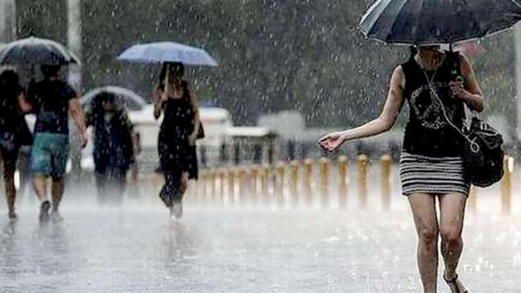 meteoroloji, trakya, istanbul, yağmur,Trakya ve İstanbul için kuvvetli yağış uyarısı