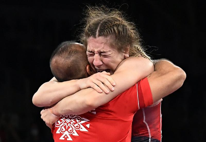 Milli güreşçi Yasemin Adar, bronz madalya kazandı