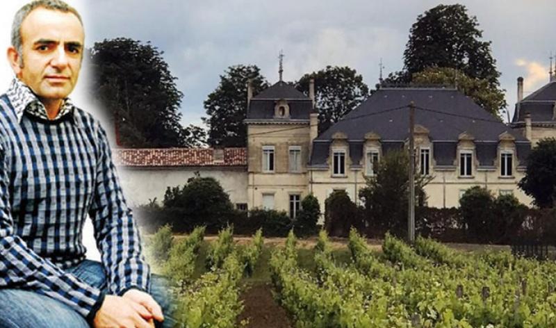 Ressam İsmail Acar'ın Fransa'da aldığı şato soyuldu
