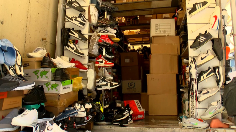 'Sahte ayakkabılar kansere neden olabilir'