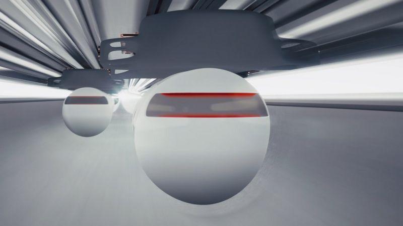 virgin hyperloop,Virgin Hyperloop, yolcuları havalandırarak taşıyacak kapsül konseptini tanıttı