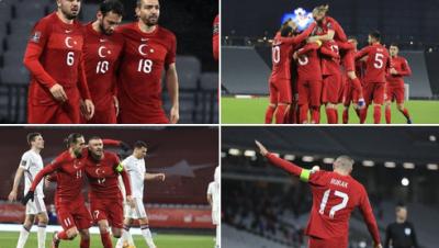 2022 FIFA Dünya Kupası Elemelerinde Türkiye, Letonya ile 3-3 berabere kaldı