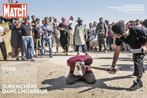 Suriye'de vahşet!