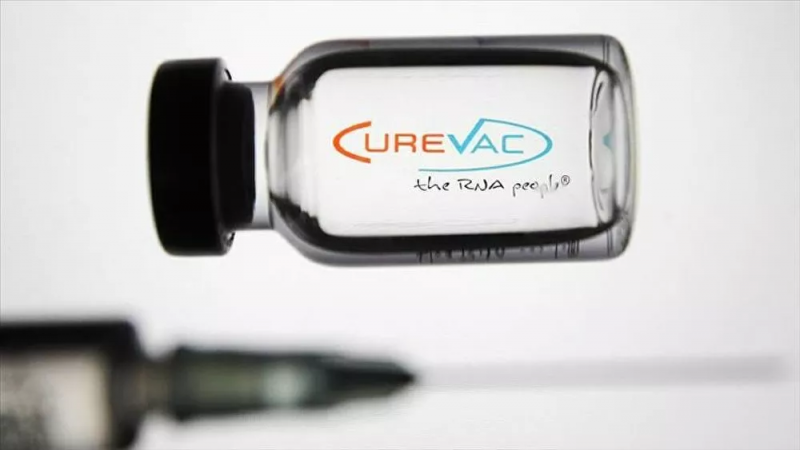 Alman şirketi CureVac'ın aşısı, genel etkililik yüzde 50 eşiğine ulaşamadı