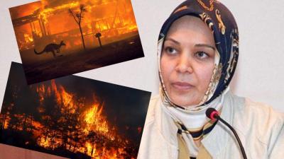 'Avustralya 240 gün yandı, bir Avustralyalı da