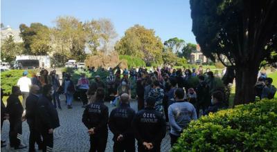 Boğaziçi Üniversitesi'nde öğrencilerin çadır kurmasına izin verilmedi