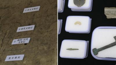 Çin'de 3 bin yıl önce sıkıştırılmış toprak tekniğiyle yapılan inşaat temeli bulundu