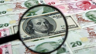 Dolar/TL, 8.70'in üzerini gördü