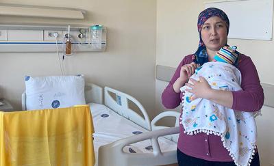 Dünyada ilk kez kadavradan rahim nakli yapılan anne: Derya Sert