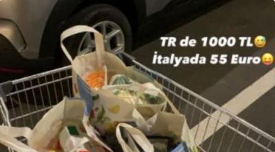 Ebrar Karakurt: 'TR'de 1.000 lira, İtalya'da 55 euro'