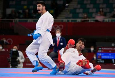 Eray Şamdan, karatede gümüş madalya kazandı