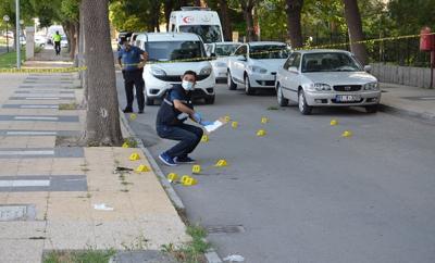 Eşini öldüren koca, polisle çatışırken öldü