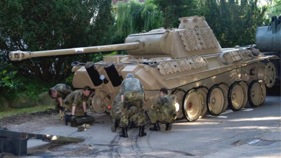 Evinde 2. Dünya Savaşı'ndan kalma tank bulunan kişiye ceza verilecek