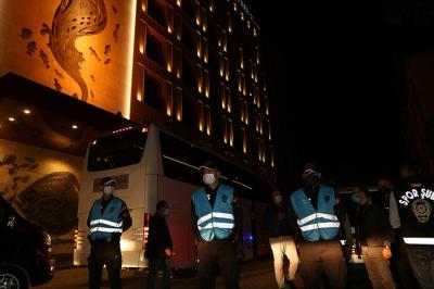 Fenerbahçe için Trabzon'da geniş güvenlik önlemi