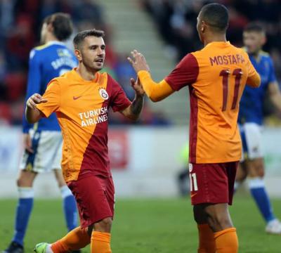 Galatasaray, Trabzonspor ve Sivasspor, Avrupa kupalarında üst tura yükseldi
