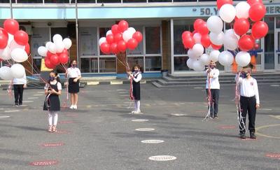 İstanbul'da 23 Nisan: 101 okuldan 101 balon gökyüzüne bırakıldı