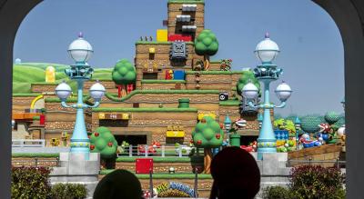 Japonya'da Super Mario tema parkı açıldı