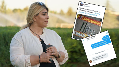 Kayserispor Başkanı Gözbaşı tehdit edildi