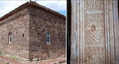 Kırıkkale'de sıvayla kapatılmış kitabe bulundu