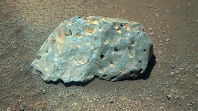 Mars'ta bilim insanlarının tanımlayamadığı tuhaf bir kaya bulundu