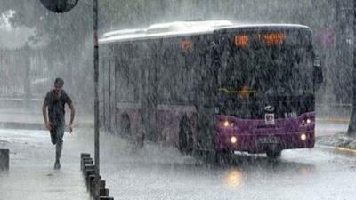 Meteorolojiden dört ile sağanak yağış uyarısı