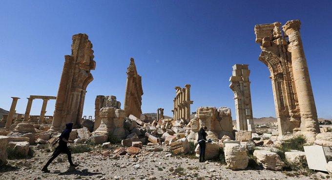 Palmira'da mayın patlaması: 8 ölü