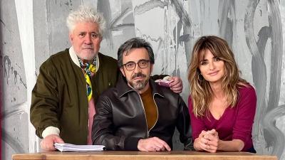 Pedro Almodovar'ın yeni filmi 'Madres paralelas'ın çekimlerine başlandı