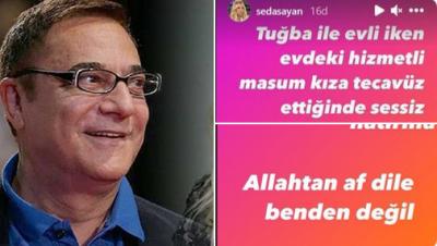 Seda Sayan ile tecavüz suçlamasında bulunduğu Mehmet Ali Erbil barıştı