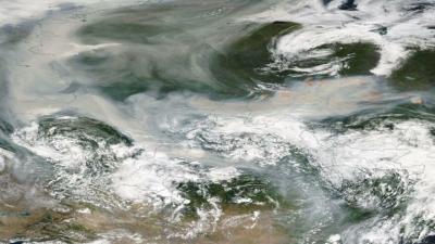 Sibirya'daki yangınlarında duman Kuzey Kutbu'na ulaştı