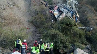 Şoför uyudu,otobüs uçuruma yuvarlandı: 29 ölü, 24 yaralı