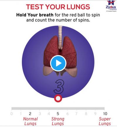 'Sosyal medyadaki akciğer testi doğru değil'