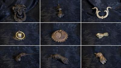 Tire'de asırlık kapı tokmakları müzede sergileniyor