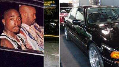 Tupac'in içinde vurulduğu BMW, 1.7 milyon dolara satışa çıkarıldı