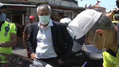 Turistlerin şikayet ettiği taksiciye bin 110 lira ceza