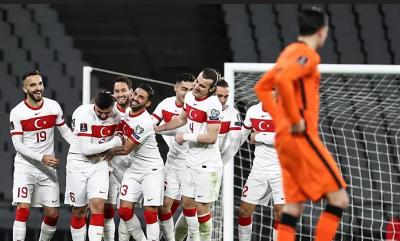Türkiye A Milli Futbol Takımı, 2022 FIFA Dünya Kupası Elemeleri G Grubu ilk maçında konuk ettiği Hollanda'yı 4-2 yendi