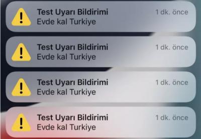 Türkiye'deki iPhone kullanıcıları acil durum bildirimi aldı