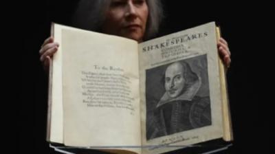 William Shakespeare'in kitabı açık artırmada 10 milyon dolara satıldı