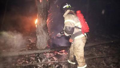 Yakutistan'da 5 ada büyüklüğünde ormanlık alan yandı