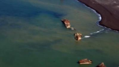 Yanardağ harekete geçti, 2. Dünya Savaşı'nda batan Japon savaş gemileri su yüzeyine çıktı